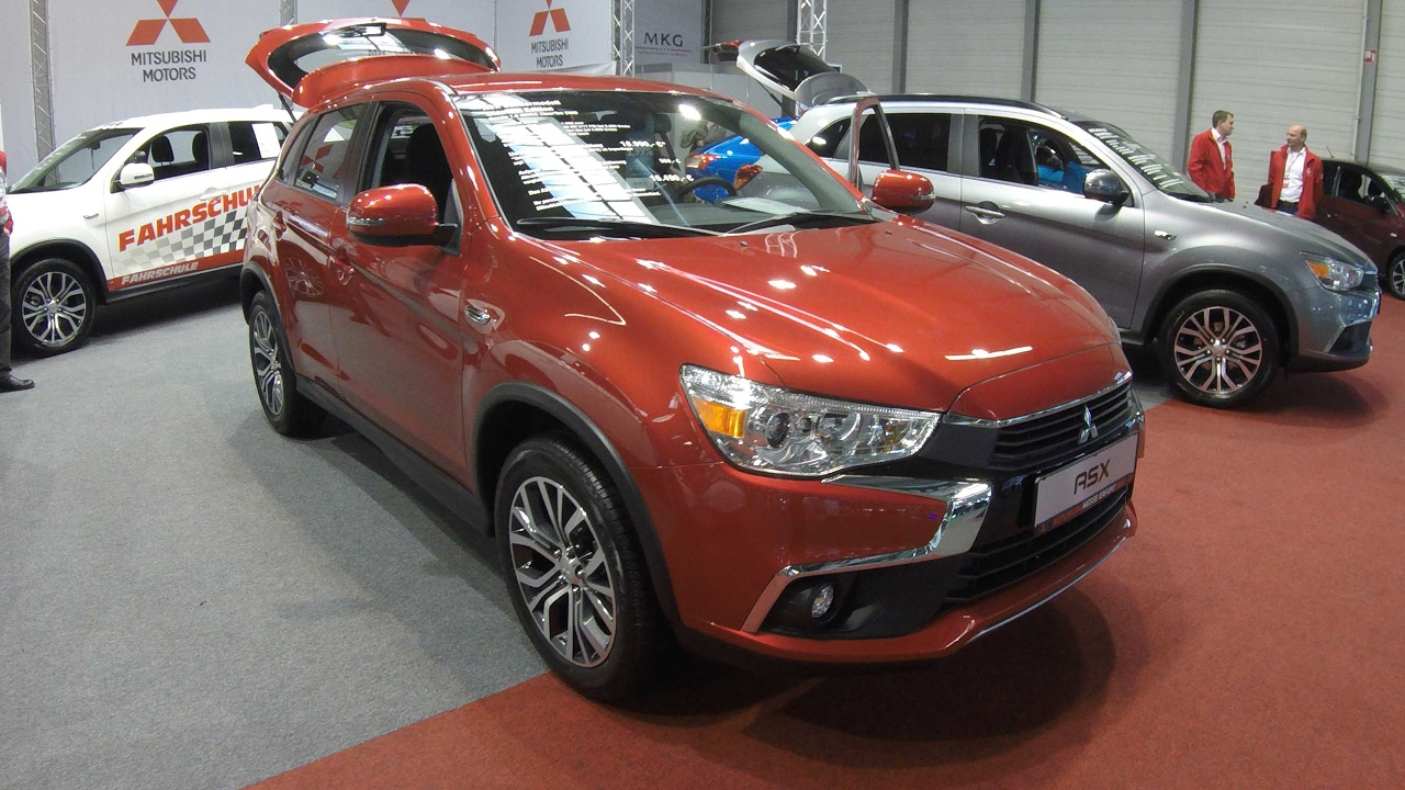 mitsubishi asx diamant edition red colour walkaround and interior youtube. Black Bedroom Furniture Sets. Home Design Ideas