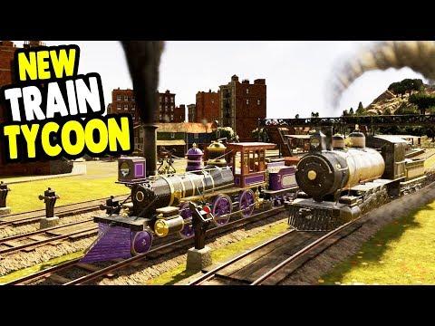 Starting Up AMERICAN Railway Company In Beautiful New Builder | Railway Empire Gameplay