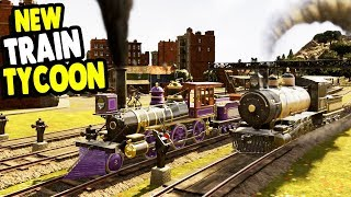 Starting Up AMERICAN Railway Company In Beautiful New Builder | Railway Empire Gameplay Launch Week