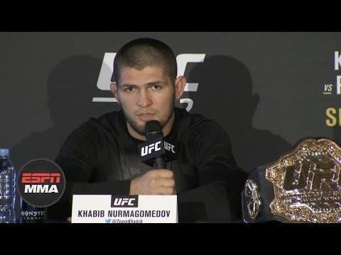 Khabib: Conor McGregor begged 'please don't kill me' at UFC 229 | ESPN MMA