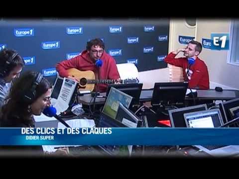Didier Super - C est la droite et la gauche (Live Europe 1)
