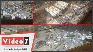 """بالفيديو.. تفاؤل المصريين يحول """"ماكيت محطة مصر"""" إلى ألبوم صور وحصالة فلوس"""