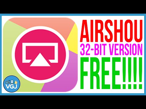 Airshou. 32-bit. Free! How to Record iPhone or iPad Screen for Free. No Jailbreak.