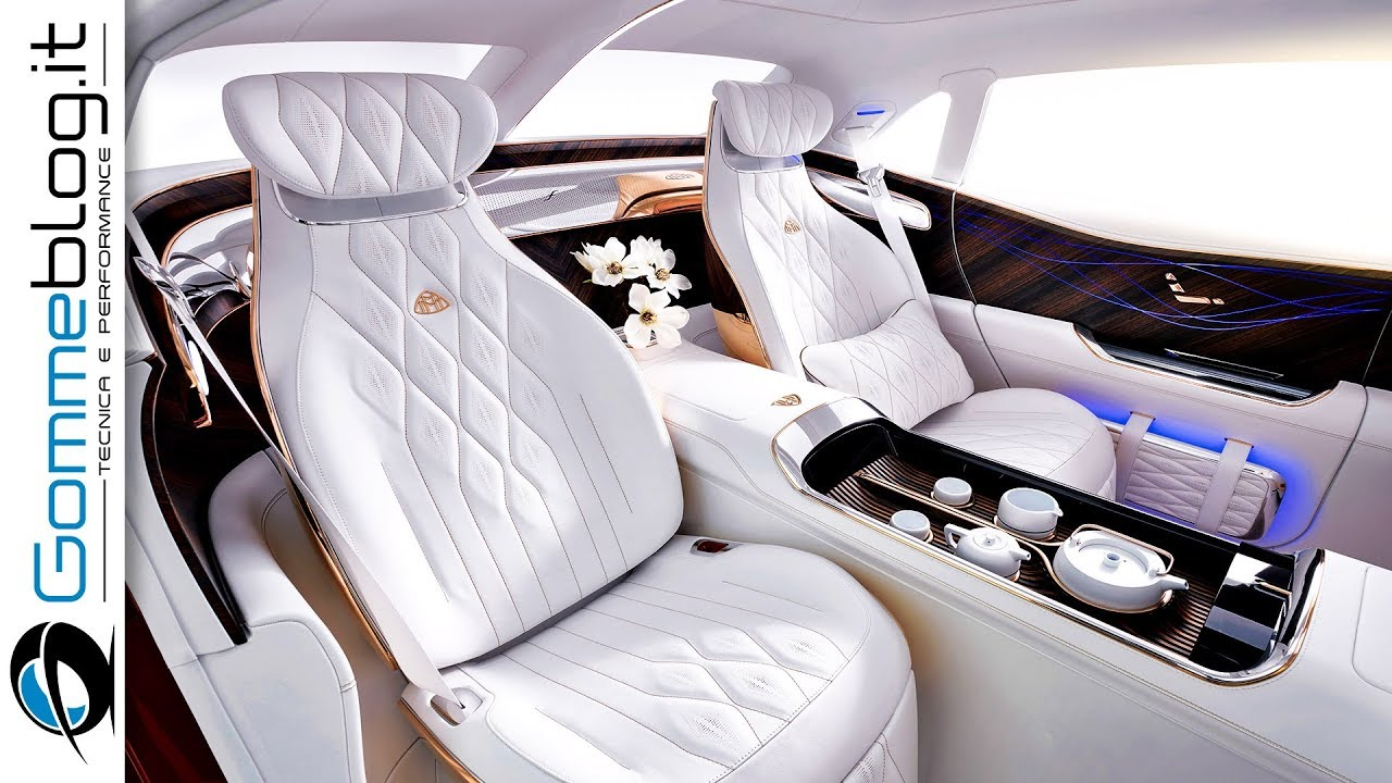 vision mercedes maybach ultimate most luxury suv - interior - youtube