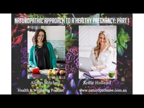 Naturopathic Approach To A Healthy Pregnancy: Part 1 Health & Wellbeing Podcast Episode #12