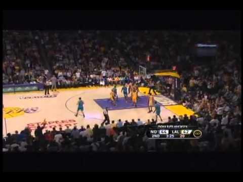 Kobe Bryant NASTY dunk on Emeka Okafor!