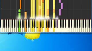 Hair   Let The Sun Shine In [Synthesia Piano] [Piano Tutorial Synthesia]