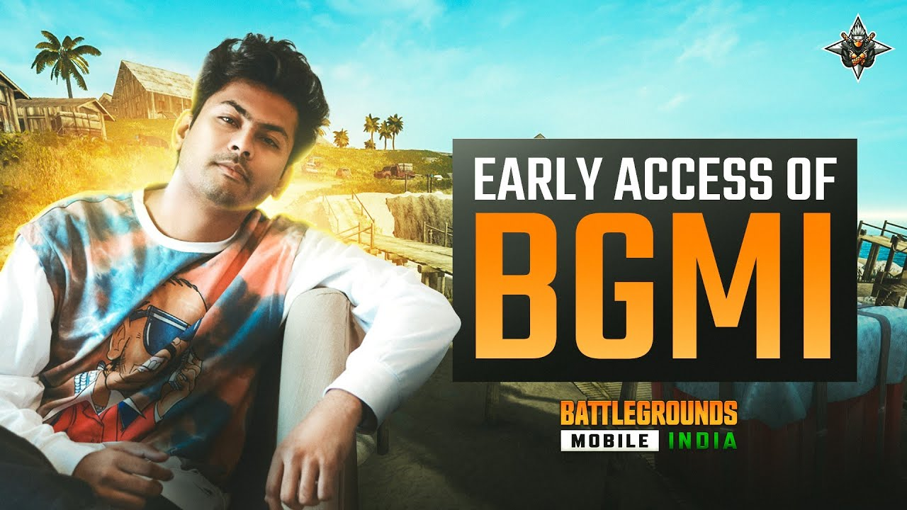 DYNAMO PLAYING BATTLEGROUND MOBILE INDIA FIRST TIME | EARLY ACCESS GAME
