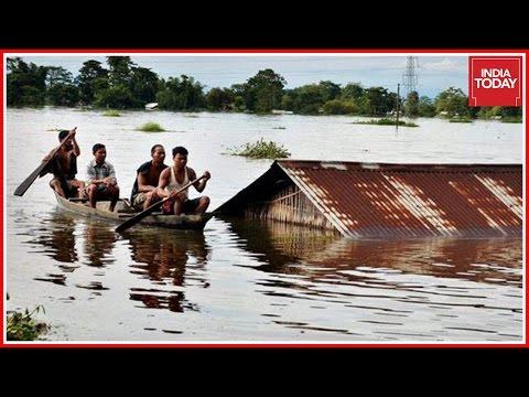 28 Dead In Assam Floods In Two Weeks