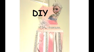 {diy} Frozen Bow Holder