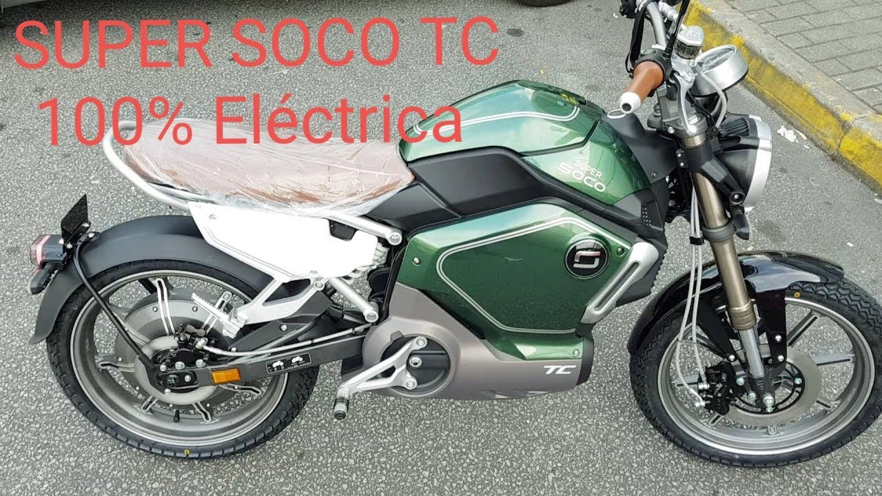 super soco tc 100 electric motorcycle youtube. Black Bedroom Furniture Sets. Home Design Ideas