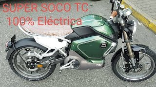 Super Soco TC - 100% Electric Motorcycle