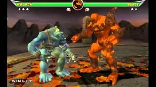 Mortal kombat Armageddon - Moloch VS Motaro and Blaze
