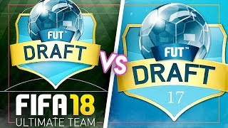 FIFA 17 DRAFT VS FIFA 18 DRAFT!
