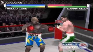How to play with a Gorilla (hidden boxer) in Knockout Kings 2001