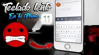 ACELERA TU TECLADO EN iOS 11.1.1 iPhone 5s, SE, 6, 6s.  - ¿PROBLEMA DE iOS 11? By: iApplePro