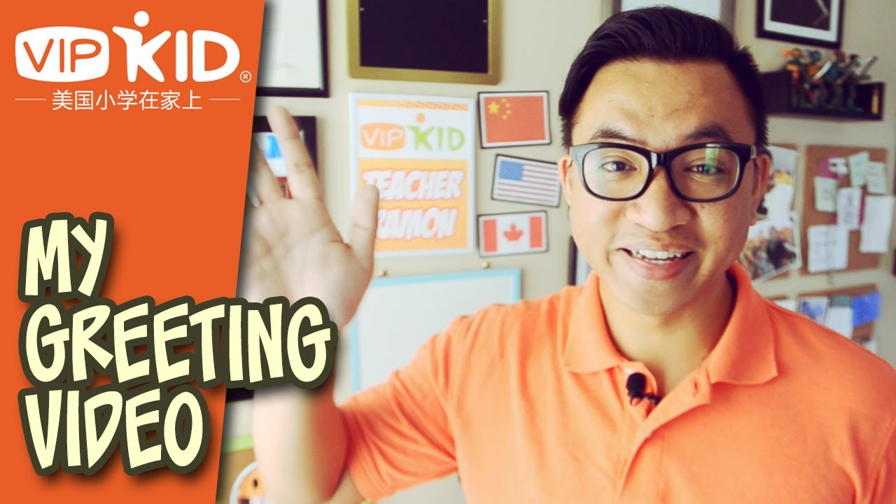 VIPKid Introduction and Welcome Video: Teacher Ramon - YouTube