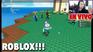Live we play Roblox in Spanish with subscribers/ Episode 3