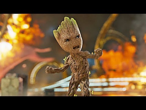 Groovin' Groot - Guardians Of The Galaxy Vol. 2 (2017)