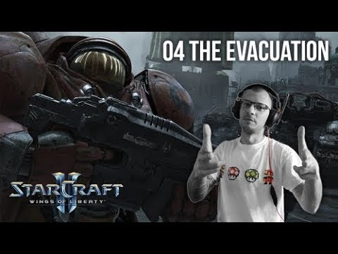 StarCraft II Wings of Liberty - Mission 04 - The Evacuation - Brutal