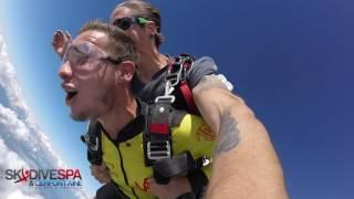 Skydive at Spa, Belgium Duo Jump 30/07/17