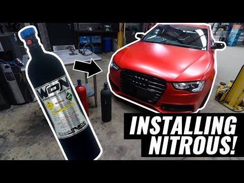 TIME TO INSTALL NITROUS OXIDE!!! - AUDI A5 3.0 TDI QUATTRO PROJECT - PART 21