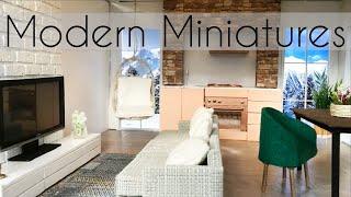 DIY Miniatures: Modern Living Room