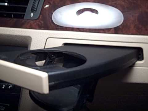 Pioneer Open Close Cupholder Mechanism For Car Interior