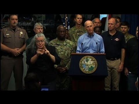Florida governor warns residents Hurricane Matthew could kill