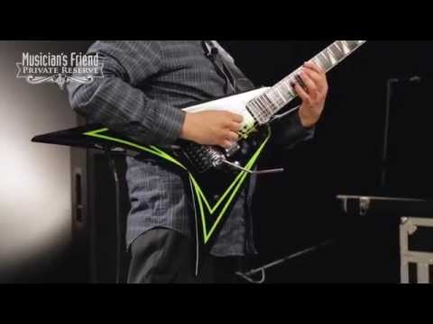 ESP Alexi Greeny Electric Guitar Green