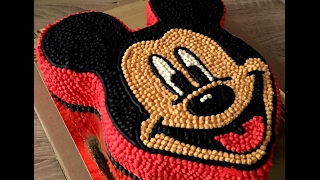 Mickey Mouse/Cake decorating