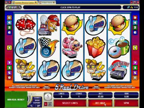 Golden Riviera Casino Slots Video Demo