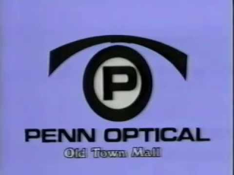 Penn Optical stores (in Baltimore, MD) ad from 1981