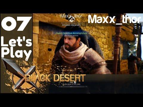 """07 - Let's Play - Black Desert Online - """"Alejandro Farm"""" - Best Ranger PVE walkthrough gameplay"""