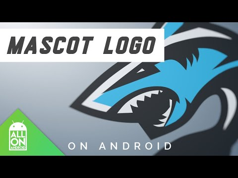 How To Make Mascot Logo On Android | Infinite Design