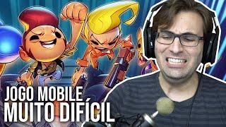 O Jogo Mobile MAIS DIFÍCIL de TODOS!? | Apple Arcade - Exit the Gungeon Gameplay em Português PT-BR