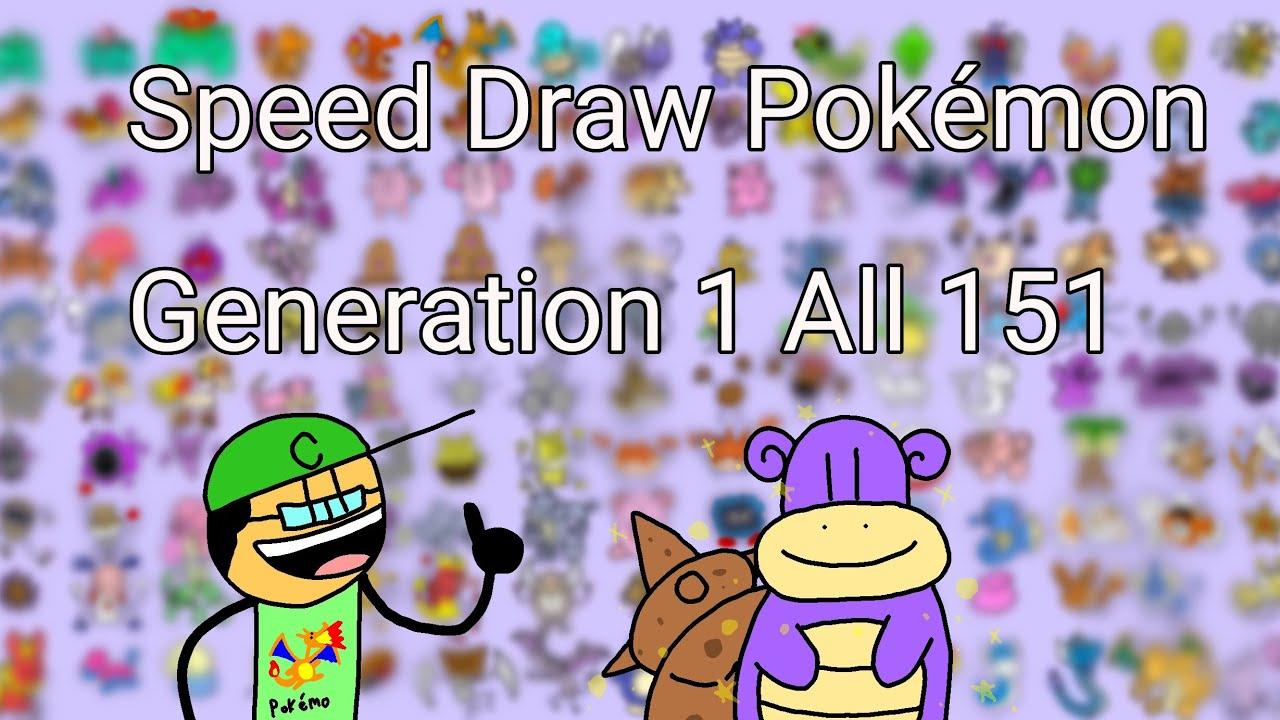 speed draw all 150