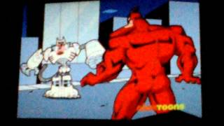 Catman vs. The Crimson chin