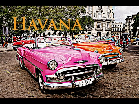 HAVANA - Cuba Timelapse from the bus - GoPro