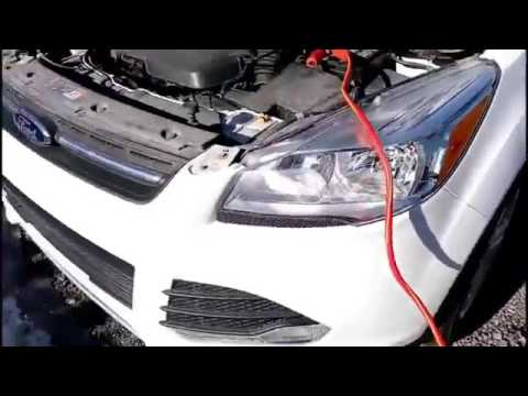 Ford Escape Se >> How to Jumpstart a Ford Escape - YouTube
