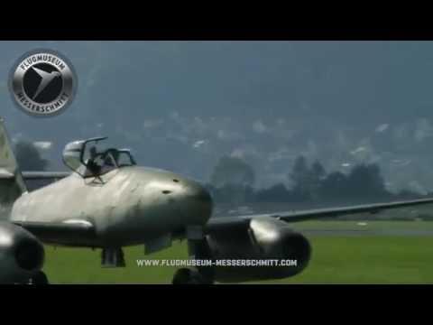 AIRPOWER 2016 - Full Messerschmitt Me 262 Flying Display.