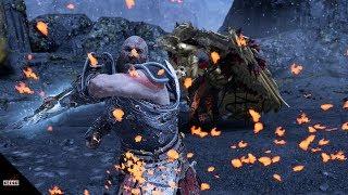 God of War - Styling On Sigrun! Runic Cancel COMBOS vs Sigrun