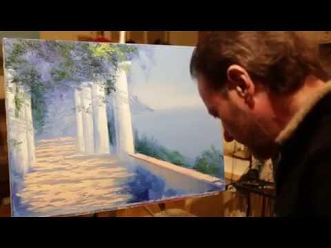Видео урок: урок живописи Игоря Сахарова