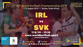 IKF WKC 2019 IRL-SVK