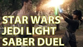 Star Wars The Force Awakens  Epic Jedi Fight