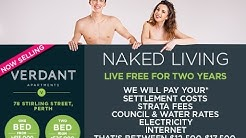 LIVING NAKED! LIVE FREE FOR TWO YEARS AT VERDANT APARTMENTS!