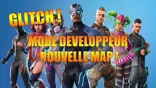 [EXCLUDEd] GLITCH: HAVE THE DEVELOPER CONSOLE AND THE NEW MAP ON FORTNITE BATTLE ROYALE!!
