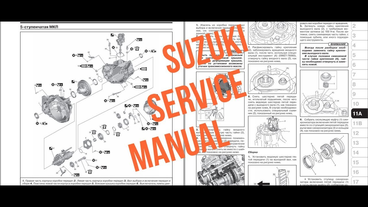 Suzuki Sx4 S-cross Service Manual
