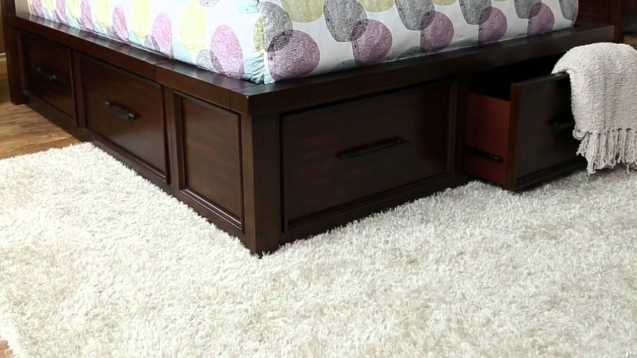 Jerome\'s Furniture Sonoma Bedroom Collection - YouTube