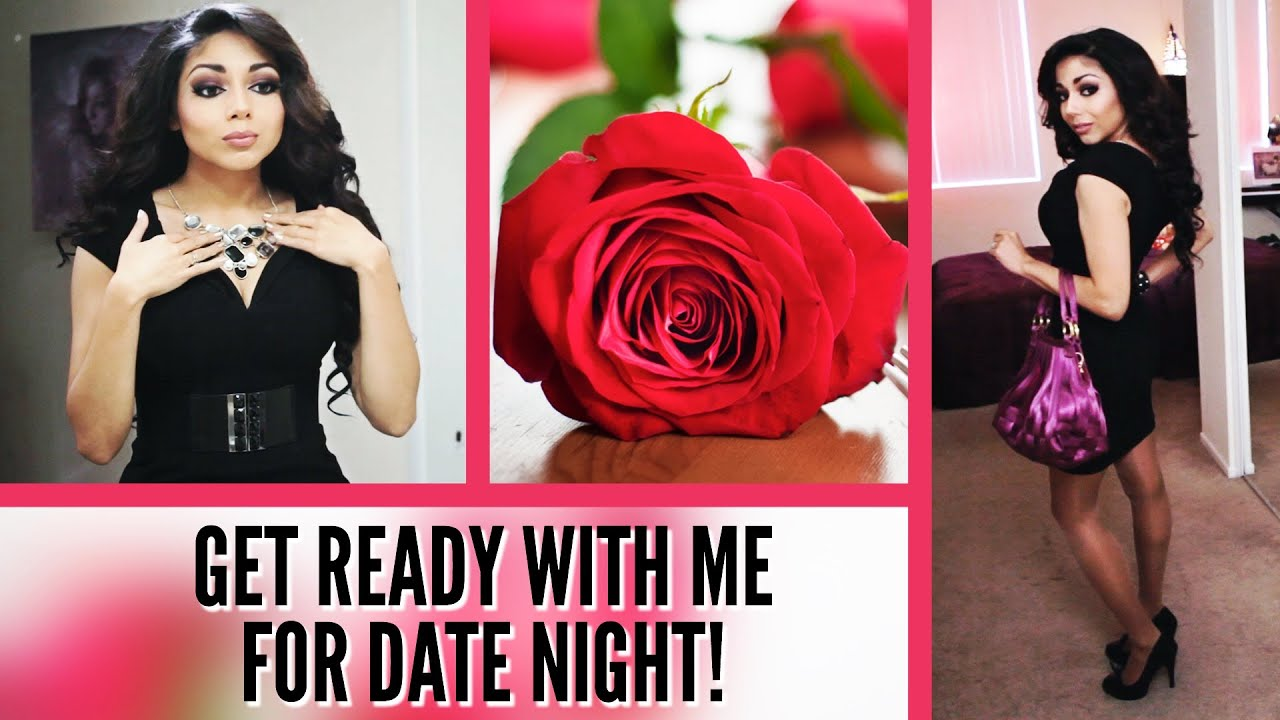 Casual date night get ready with me